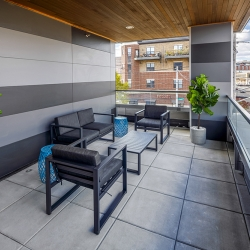 Resident patio on the 2nd floor